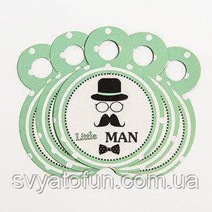Медальки Little man 10шт/уп