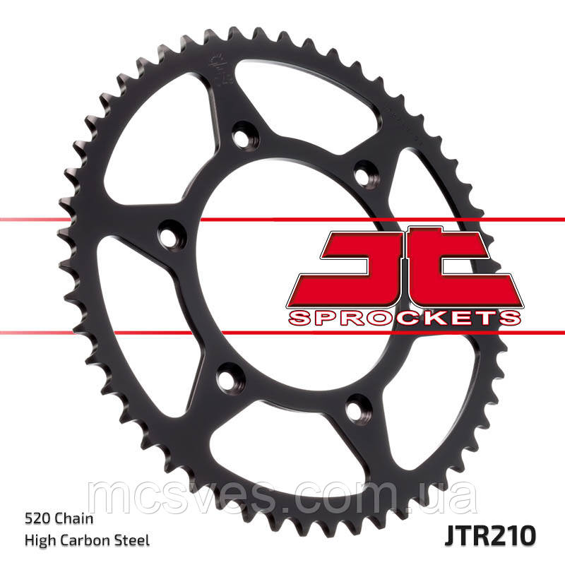 Звезда задняя стальная  JT JTR210.47 JT Sprockets