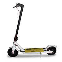 Электросамокат для взрослых и детей Scooter до 25 км/ч, 7,8MAH APP, до 100 кг, белый, самокаты