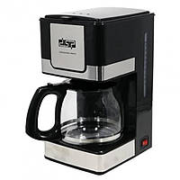 Кофеварка капельная DSP КА 3024 (стильная капельная кофеварка на 4-6 чашек) с большой чашей