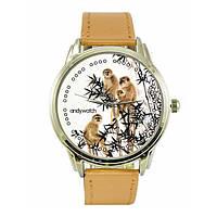 """Наручные часы """"Happy Family"""" с обезьянкой"""