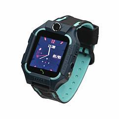 Детские умные часы (смарт часы с GPS + родительский контроль + фонарь) Smart Baby FZ6W, (Зелёный)