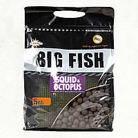 Потопаючі бойли Dynamite Baits Squid & Octopus Hi-Attract (кальмар і восьминіг) 1.8 кг