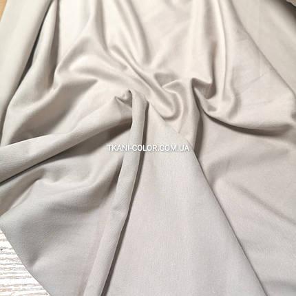 Ткань кулир стрейч светло-бежевый, фото 2