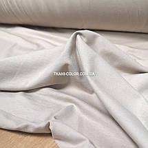 Ткань кулир стрейч светло-бежевый, фото 3