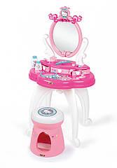 Столик с зеркалом Hello Kitty 2 в 1 с аксессуарами, 3+ Smoby 320239