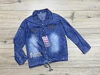 Джинсовая рубашка для девочки 12 лет .Турция