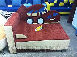 Детский диван с нишей для ребенка Сигнал - красный цвет
