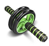 Фитнес колесо для пресса и других групп мышц Double Wheel Abs health (14219), фото 2