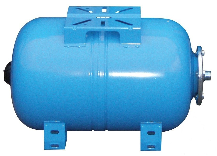 Гидроаккумулирующий бак горизонтальный Aquasystem VAO 80