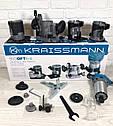 Фрезер-триммер электрический Kraissmann 910O FT6-8( 4 базы), фото 3