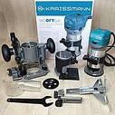 Фрезер-тример електричний Kraissmann 910 OFT 6-8 (3 бази), фото 2