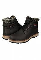 Зимние польские кожаные ботинки есо sportwear