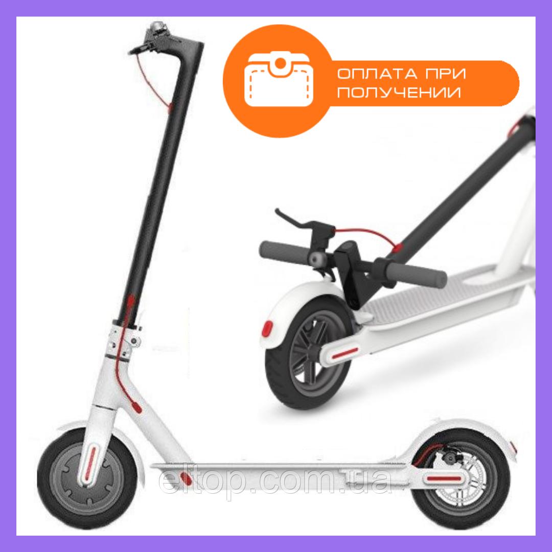 Электросамокат m365 pro Kugoo Electric Scooter белый Складной электрический самокат для детей и взрослых