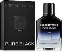 Мужская парфюмерная вода Unforgettable Pure Black 100ml.Glenn Perri Geparlys.
