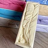 Простынь махровая на резинке универсальный размер 230х250см VISION Premium Турция Цвет - Бежевый 100% Хлопок, фото 2