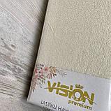 Простынь махровая на резинке универсальный размер 230х250см VISION Premium Турция Цвет - Бежевый 100% Хлопок, фото 3