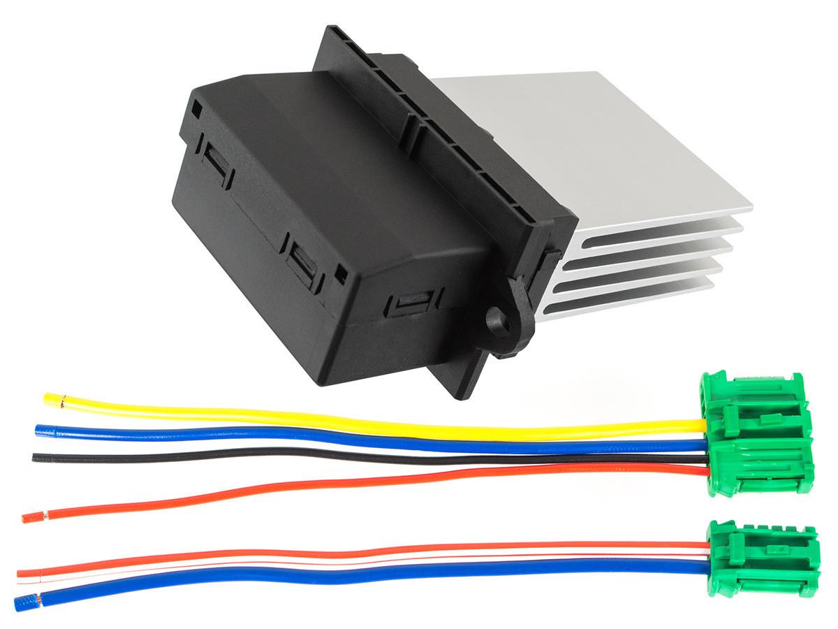 Citroen C3 (FC), II (весь період виробництва) реостат, резистор вентилятора, кондиціонера з роз'ємами