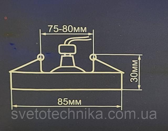 Feron DL8300 черный хром встраиваемый точечный алюминивый светильник