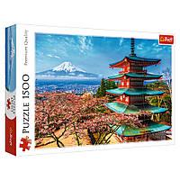 """Пазл """"Вид на гору Фудзияма. Япония"""", 1500 элементов Trefl (5900511261325)"""