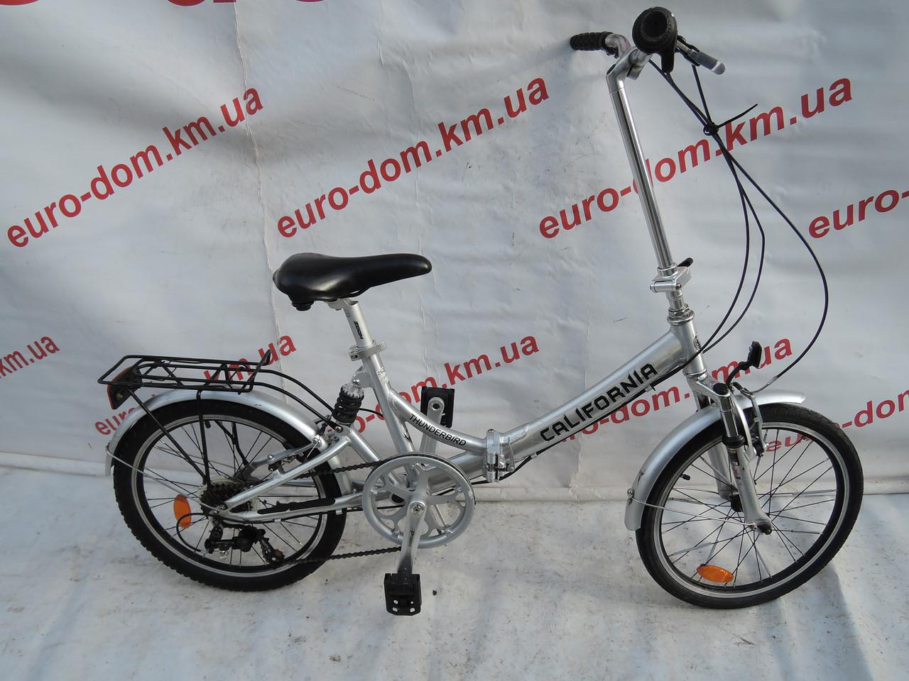 Складной велосипед California 20 колеса 6 скоростей