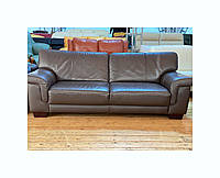 Мягкий кожаный диван/шкіряний диван б/у «Захар»