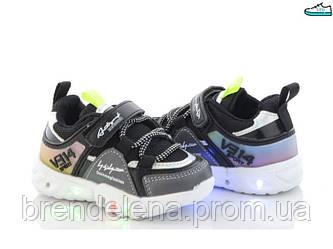 Стильні кросівки ОВТ для хлопчиків р 24 (код 3231-00)