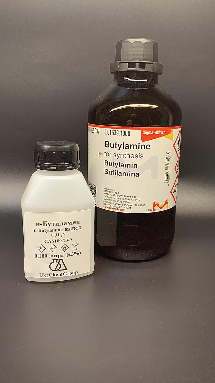 Н-Бутиламин ( Merck ) n-Butylamine C4H11N 100мл