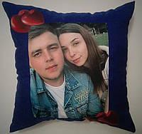 Декоративные подушки с принтом, фото