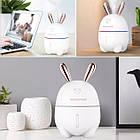Увлажнитель воздуха Happy Rabbit Humidifier белый зайка, фото 4