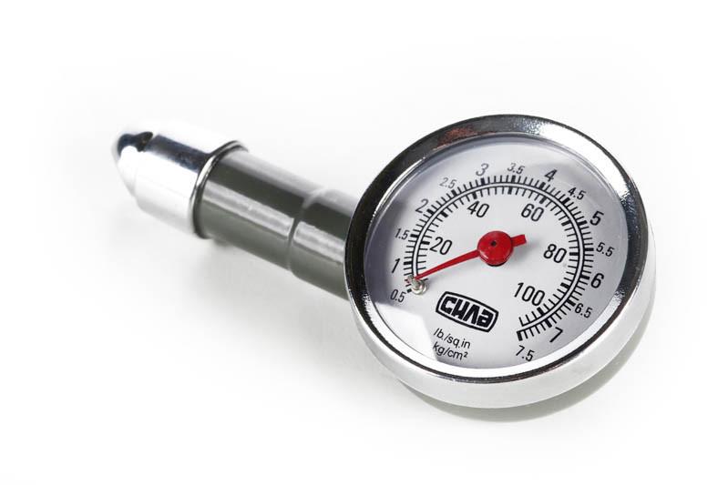 Манометр металлический 7,5 Атм (в кейсе) СИЛА