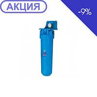 Корпуса фильтров типа Big Blue со стаканами голубого цвета Aquafilter FH20B1-В-WB