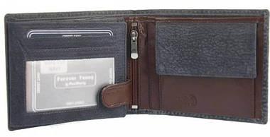 Кожаное мужское портмоне ALWAYS WILD N992VTP серое, фото 3
