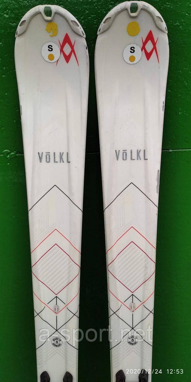 Гірські лижі бу Völkl Flair 75 141 см,  для карвінгу, 2017р