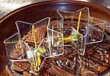 Набор для изготовления чайной свечи Звезда (контейнер чайной свечи, фиксатор фитиля, фитиль), фото 2