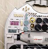 Гравер Промінь-Профі МГЛ-500Б (в кейсі). Великий набір насадок + гнучкий вал., фото 2