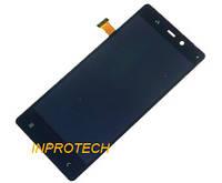 Дисплей (LCD) Fly IQ453 Quad Luminor FHD с сенсором Black Original