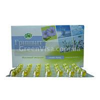 Капсулы ГРИНВИТ | масляный экстракт семян льна обволакивающее, омега, онкопротекторное, сахароснижающее