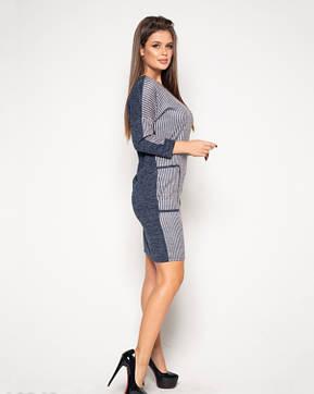 Платья ISSA PLUS 10343  S синий, фото 2