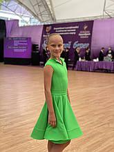 Плаття для бальних танців, категорія Ювенали, на ріст 134-140