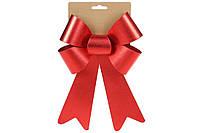 Бант декоративный 16*25см, цвет - атласный красный BonaDi 821-033