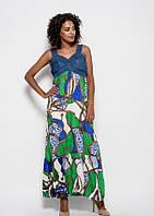 Платья ISSA PLUS WN9-91  S зеленый