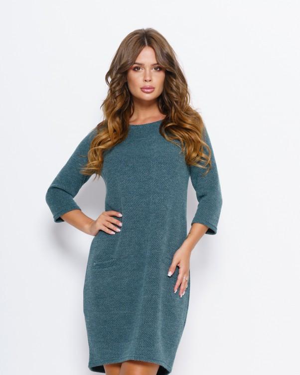 Платья ISSA PLUS 10184  S зеленый