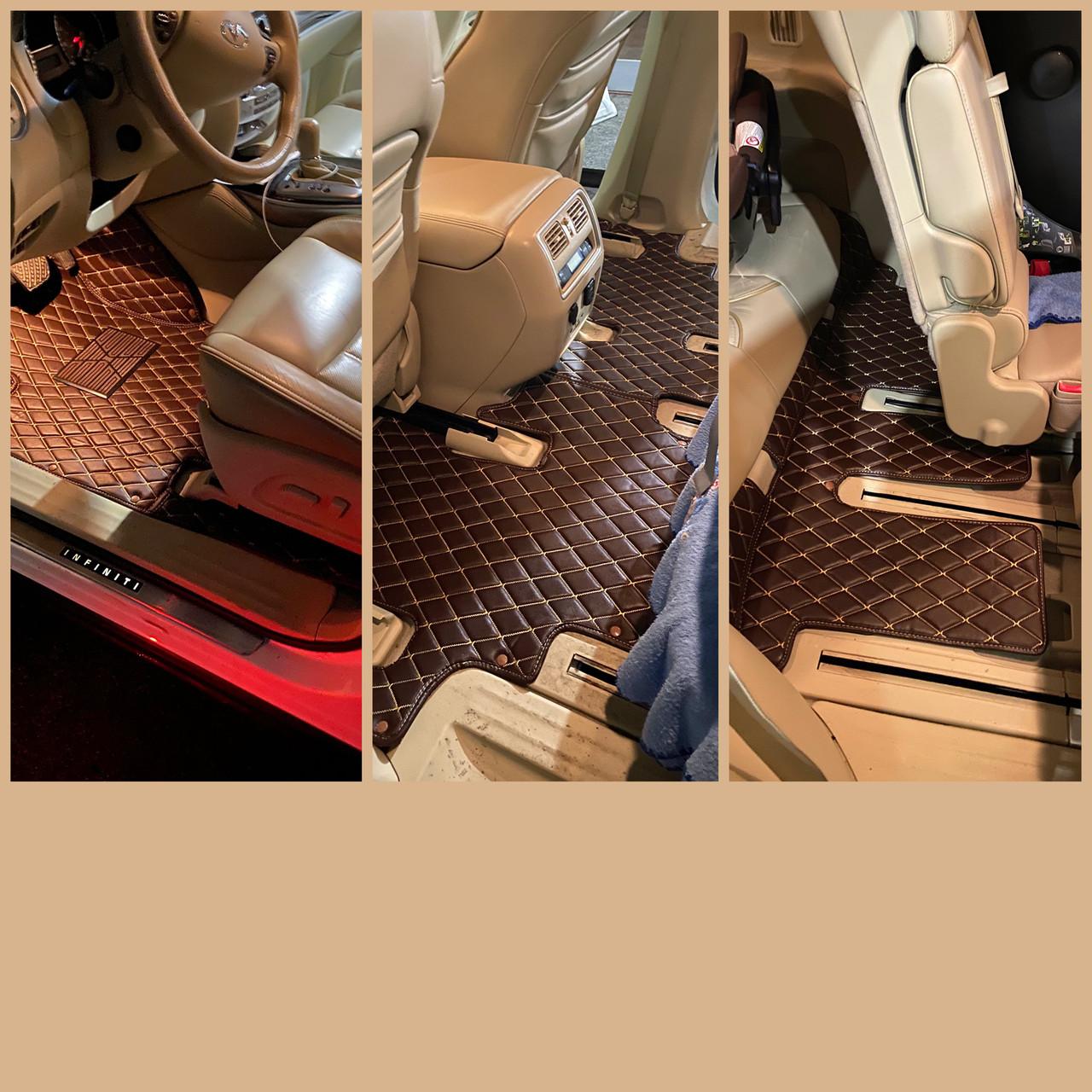 Комплект килимків з екошкіри для Toyota C-HR