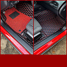 Комплект килимків з екошкіри для Toyota C-HR, фото 3