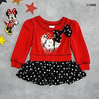 Туника Minnie Mouse для девочки. 2 года