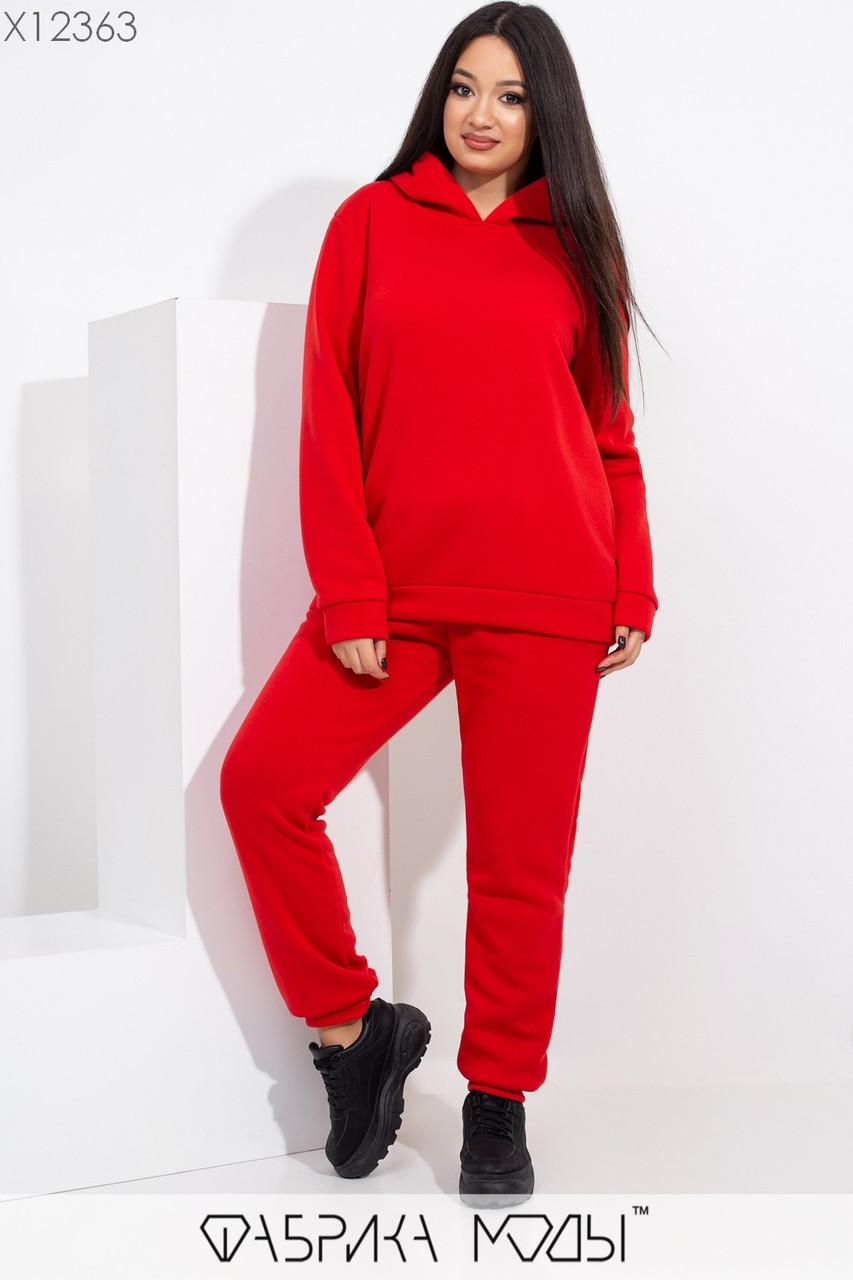 Утепленный спортивный костюм женский батал р.48-52  Фабрика Моды XL