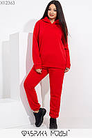 Утепленный спортивный костюм женский батал р.48-52  Фабрика Моды XL, фото 1