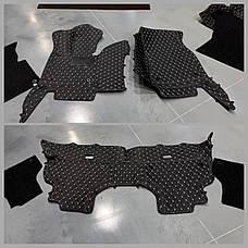 Комплект килимків з екошкіри для Ford Mustang (6 покоління), фото 2