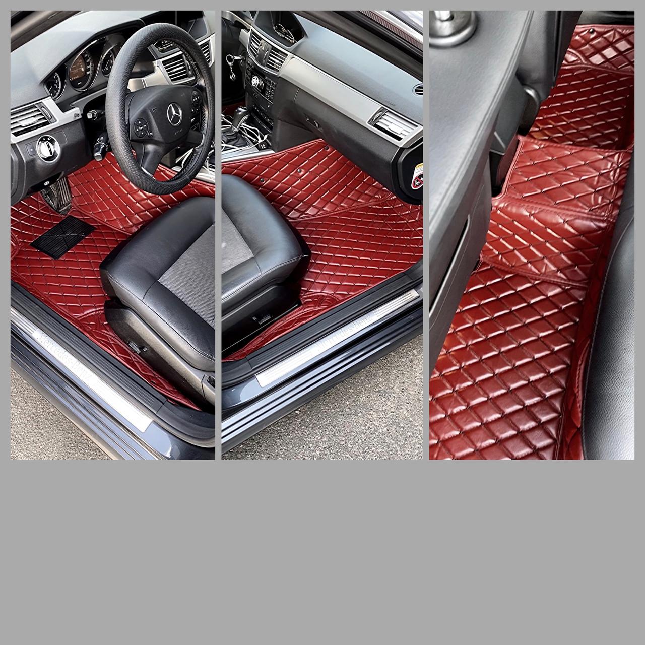 Комплект килимків з екошкіри для Ford Mustang (6 покоління)